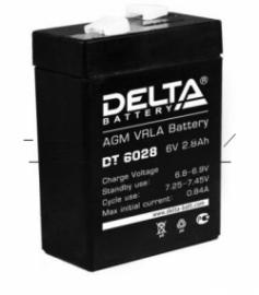 Аккумуляторы Delta DT 6028