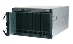 Блейд-система IBM BladeCenter E, 14 блейд-серверов HS21: 2 процессора Intel Xeon Quad-Core E5440 2.83GHz, 16GB DRAM, 146GB SAS