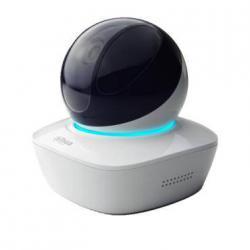 IP камера Dahua DH-IPC-AW12WP для дома и офиса 1Мп, объектив 3.6мм,wi-fi, поворотная, с микрофоном и динамиком