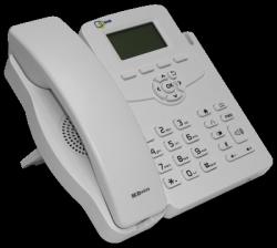 IP-телефон SNR-VP-51 с БП, белый цвет