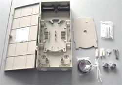 Кросс оптический настенный соединительный (ШКОН), 8 соединений, компактный (FT-D)