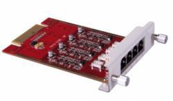 Модуль, 4 порта FXO для IP АТС LAVoice-100/500