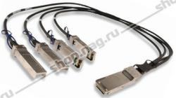 Модуль 40G QSFP-40G->4xSFP+ DAC,  дальность до 1м