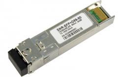 Модуль SFP+ DWDM оптический, дальность до 40км (14dB), 1529.55нм