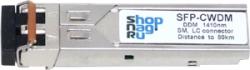 Модуль SFP 2.5G CWDM оптический, дальность до 120км  (35dB), 1510нм
