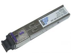 Модуль SFP WDM, дальность до  20км (14dB), 1550нм, 100Mb