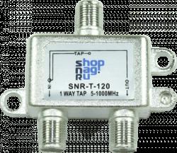 Ответвитель абонентский SNR-T-108 на 1 отвод вносимое затухание IN-TAP 8dB.