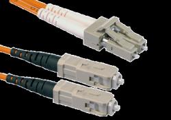 Патчкорд оптический LC/UPC-SC/UPC MM Duplex 3метра
