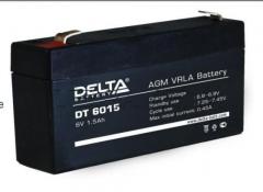 Аккумуляторы Delta DT 6015