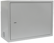 Антивандальный шкаф, тип-распашной высота 15U, глубина 450 мм