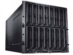 Блейд-система Dell PowerEdge M1000e, 8 блейд-серверов M600: 2 процессора Intel Xeon Quad-Core E5450 3.0GHz, 16GB DRAM, 2x146GB SAS