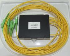 Делитель оптический корпусный dual window 1х 6, SC/APC