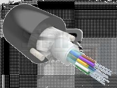 Кабель оптический Alpha Mile Микро ADSS, 12 волокон