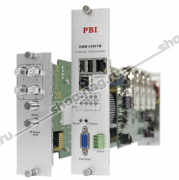 Модуль 4-тюнерного трансмодулятора QAM DMM-2400TM-30T2C (4 PLP DVB-T2 в 4 DVB-C) для цифровой ГС PBI DMM-1000