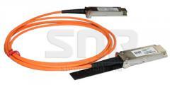 Модуль 40G QSFP+ AOC, дальность до 15м