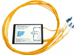 Модуль Add/Drop  SNR-DWDM-OADM1-1555.75/1536.61 для одноволоконных DWDM сетей