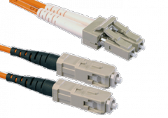 Патчкорд оптический LC/UPC-SC/UPC MM Duplex 1метр