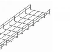 Проволочный лоток 50х300х3000, диаметр проволки 3,5 мм