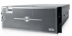 Сервер Dell PowerEdge R900, 4 процессора Intel Xeon 6C E7450 2.4GHz, 64GB DRAM, 2x146GB SAS