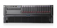 Сервер HP Proliant DL580 G5, 4 процессора Intel Quad-Core X7350 2.93GHz, 32GB DRAM